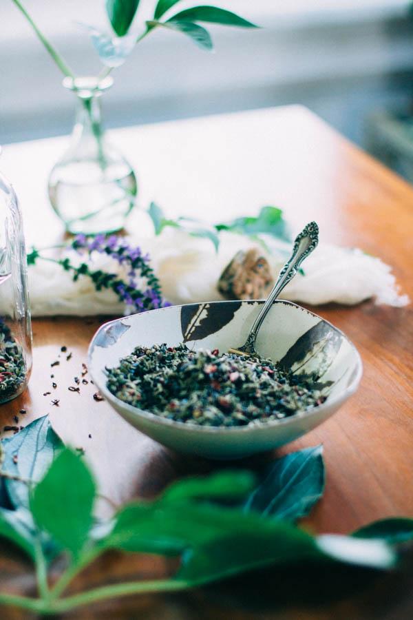May Steep | Damiana, Hibiscus, Nettle, Mugwort & Lavender