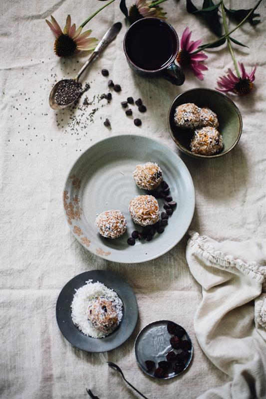 Nut Butter Balls: Adrenal and Energy Boost | Ginger Tonic