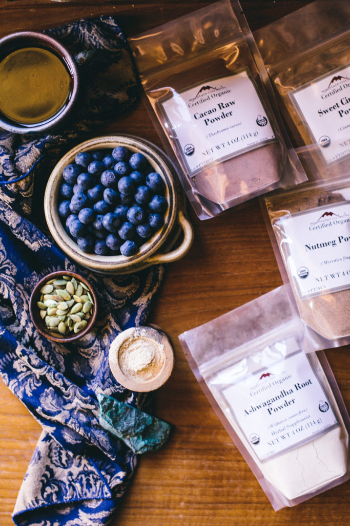 Adaptogenic Morning Oats | Ginger Tonic Botanicals