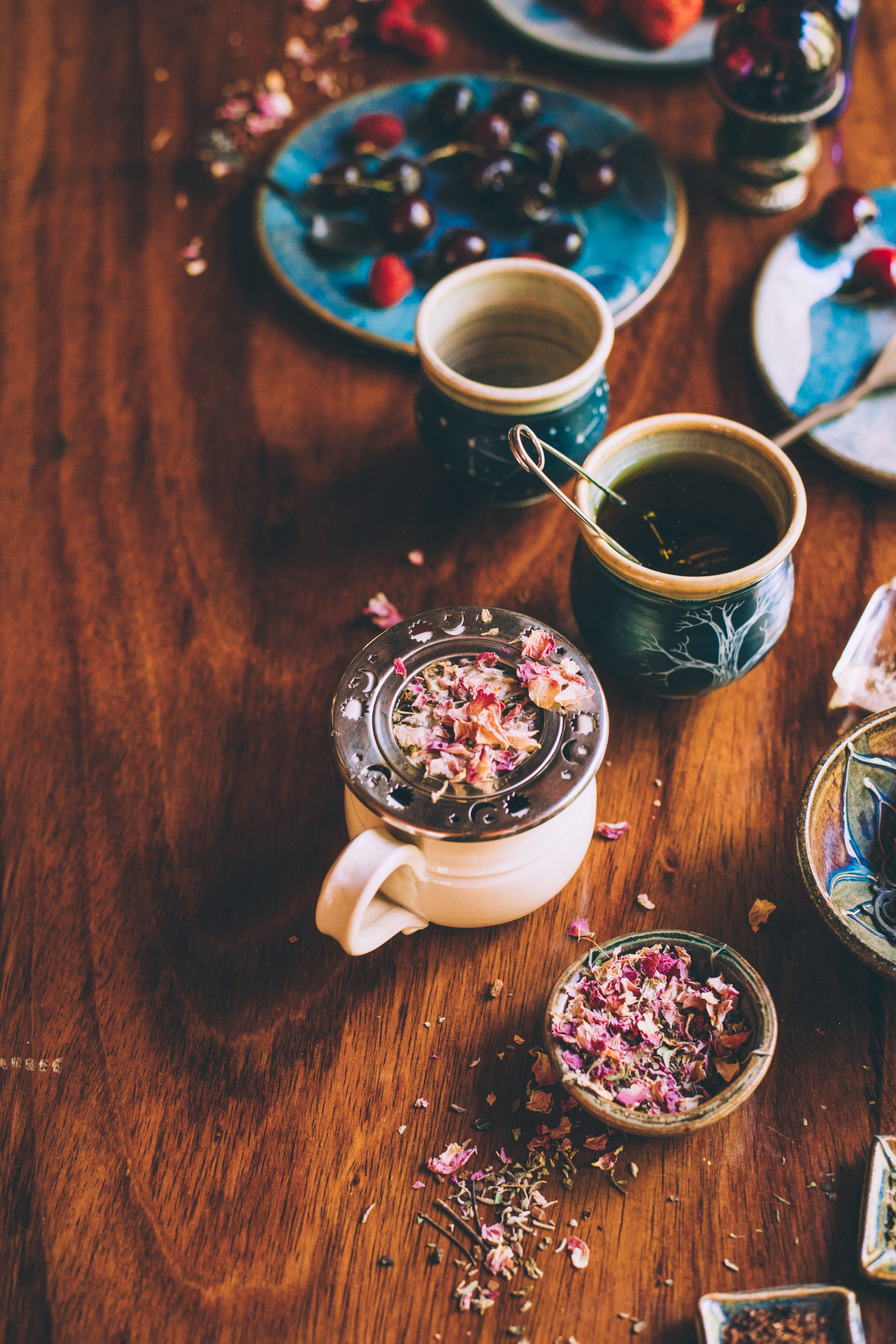 High Vibe Summer Tea Party | Ginger Tonic Botanicals