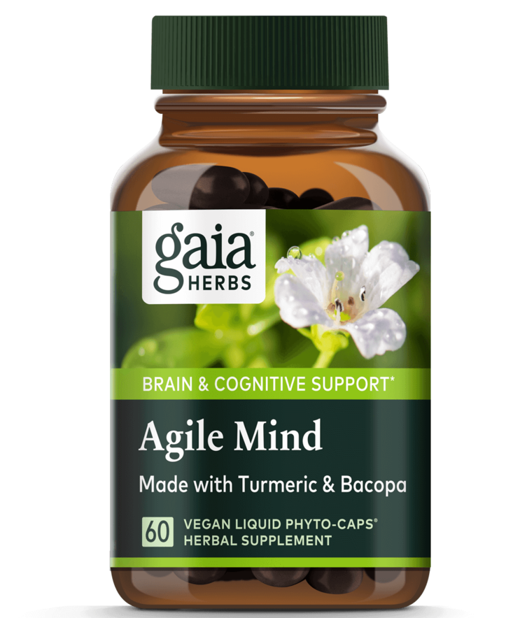 Herbal brain cognitive support