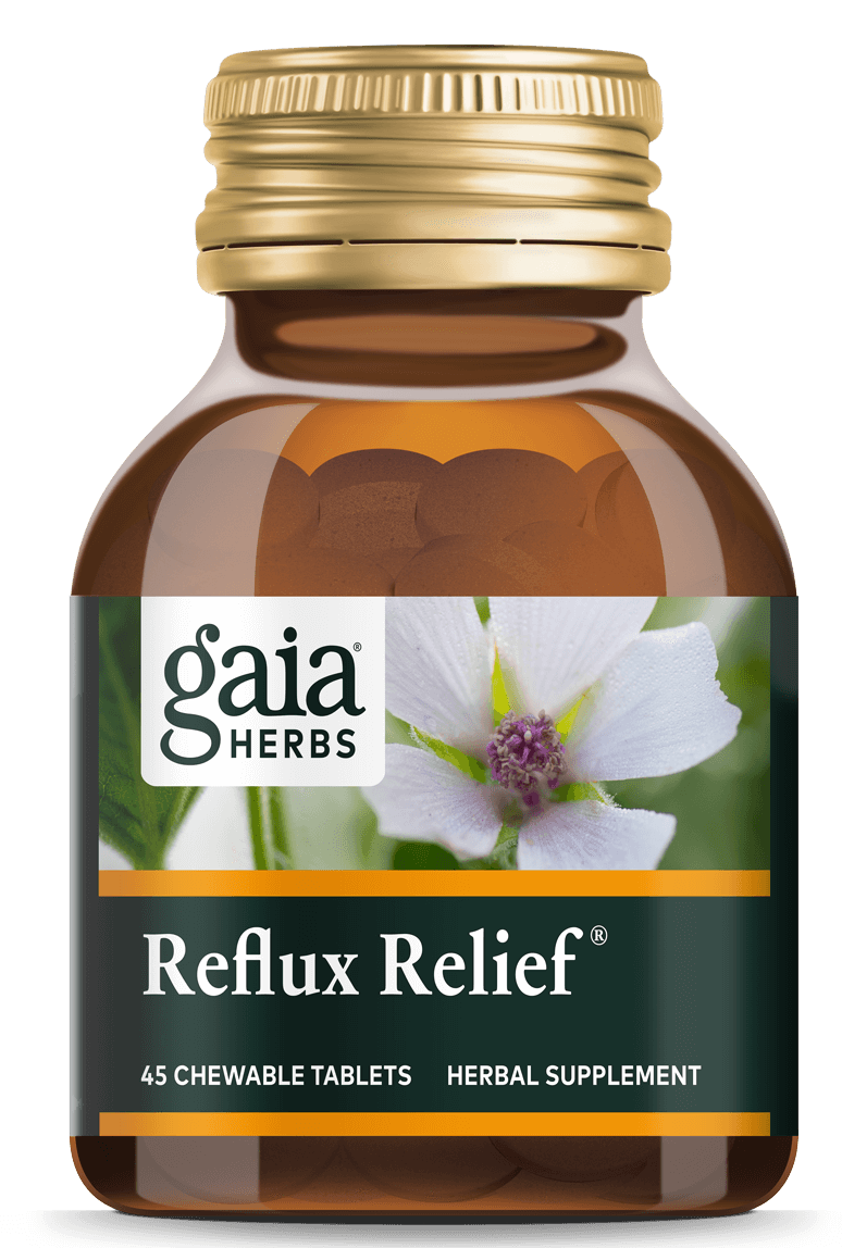 natural acid reflux relief
