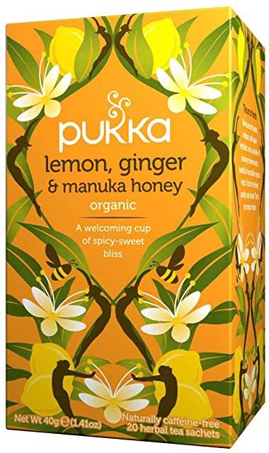 Pukka Lemon Ginger Manuka Honey